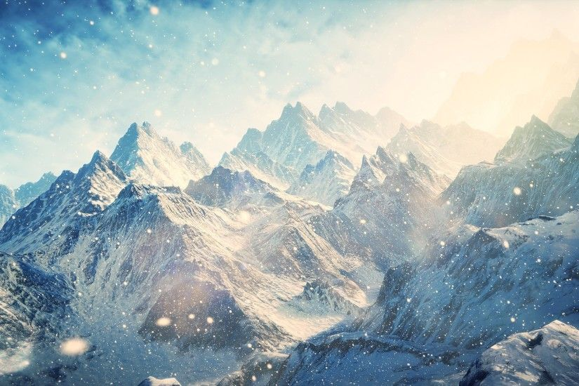 ... Nature Wallpaper HD - Snow Mountain Wallpapers Full Hd at .
