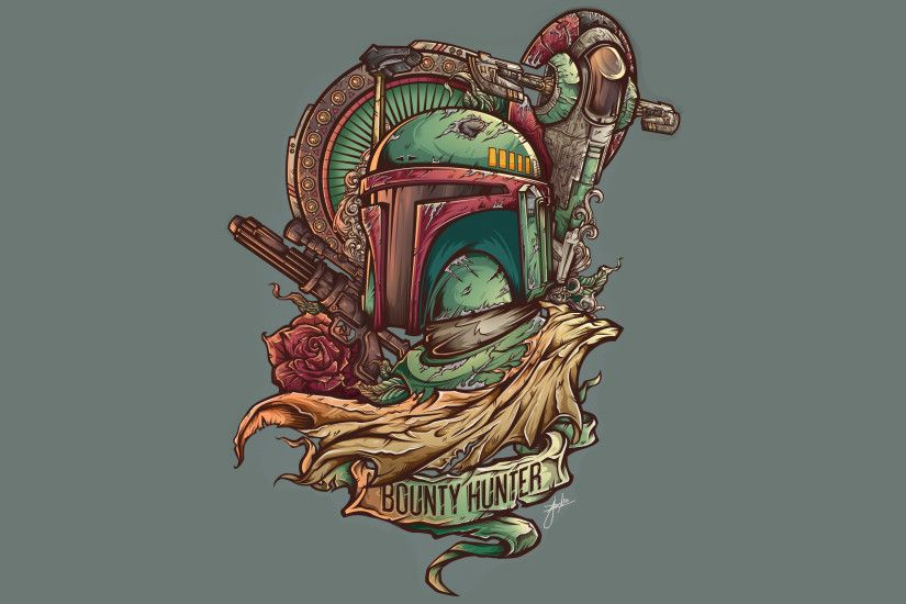 Movie - Star Wars Bounty Hunter Boba Fett Wallpaper