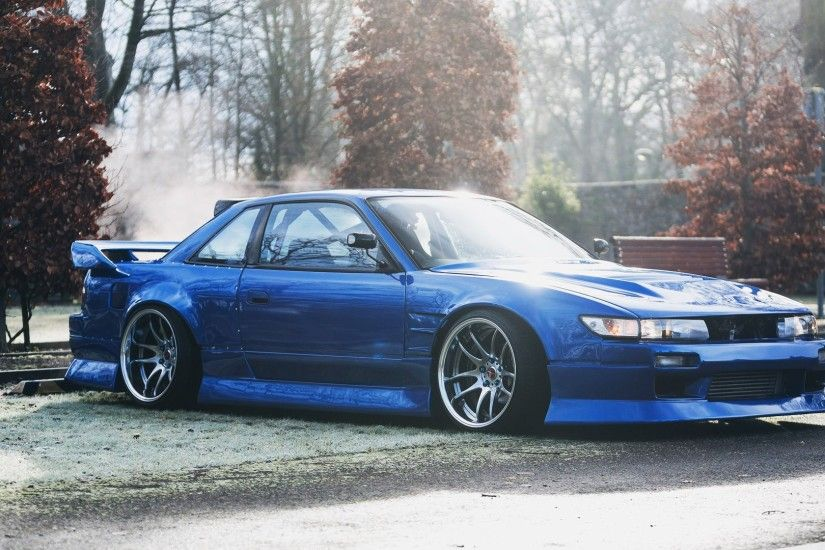Nissan, Silvia, Nissan S13, S13, JDM, Japanese Cars, Parking Lot, Car,  Tuning Wallpapers HD / Desktop and Mobile Backgrounds