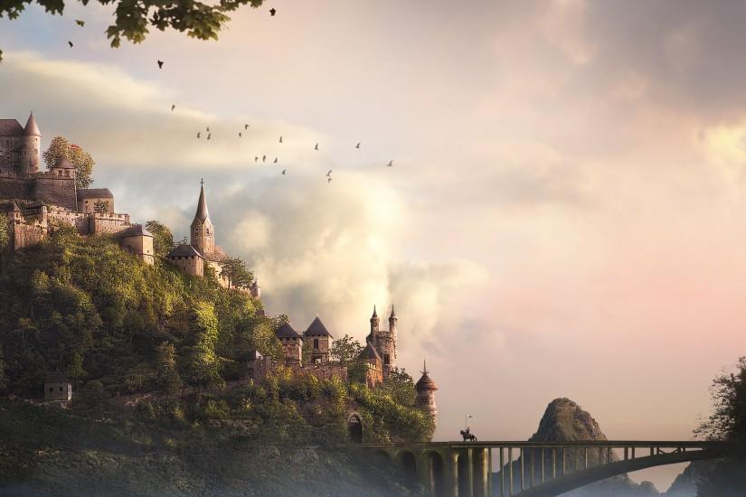 HD Wallpaper | Background ID:439037. 2560x1600 Fantasy Castle