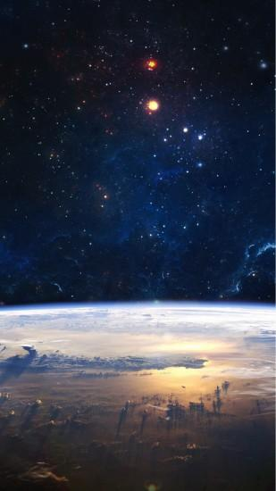 Space scenery Samsung Galaxy S5 Wallpapers 149