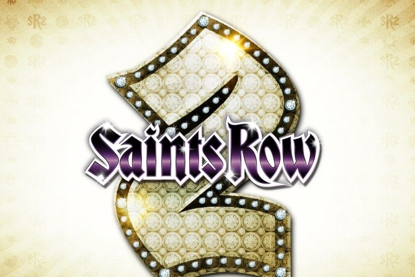 1920x1080 Wallpaper saints row 2, emblem, name, game, light