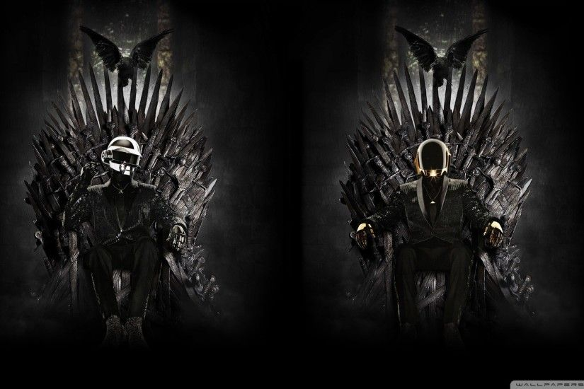 music, Daft Punk, Game Of Thrones, Iron Throne Wallpapers HD / Desktop and  Mobile Backgrounds