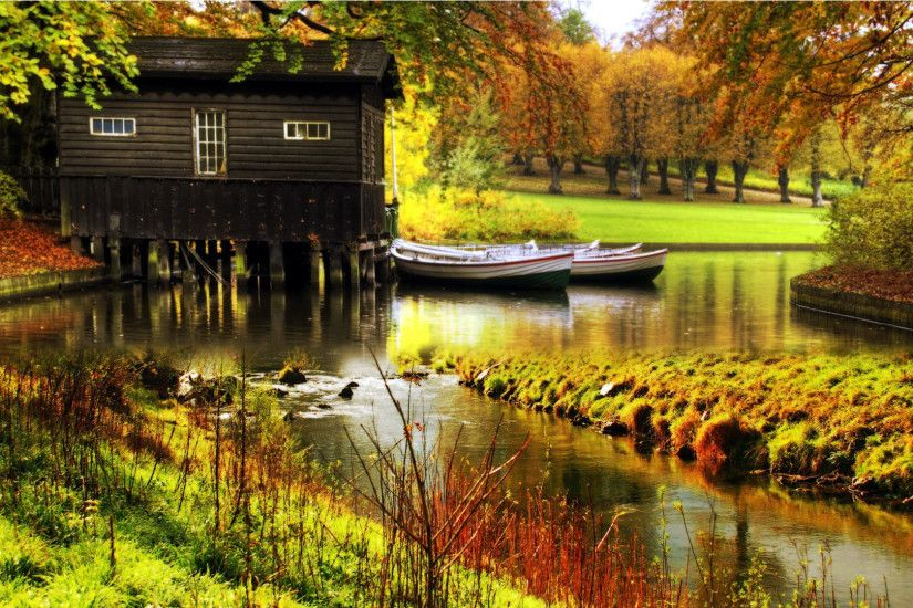 hd pics photos nature floating home scenery water desktop background  wallpaper