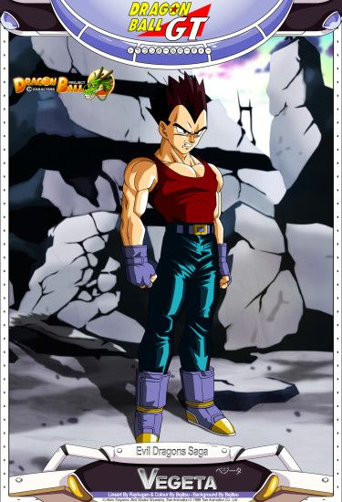 ... Dragon Ball GT - Vegeta by DBCProject