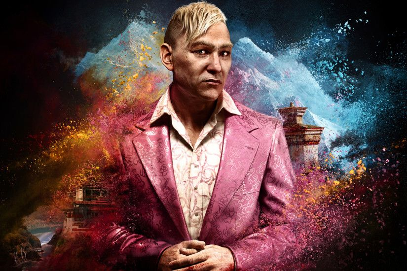 Far Cry 4 King Pagan Min Villain