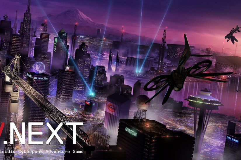 V.Next // An Episodic Cyberpunk Adventure