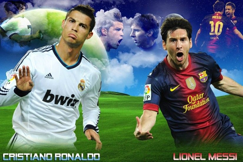 ... Cristiano Ronaldo Vs Lionel Messi 2015 Wallpapers Wallpaper Cave ...