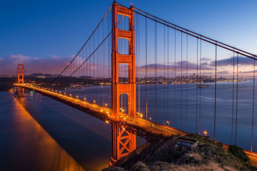 ... Golden Gate Bridge HD Wallpaper 2560x1600
