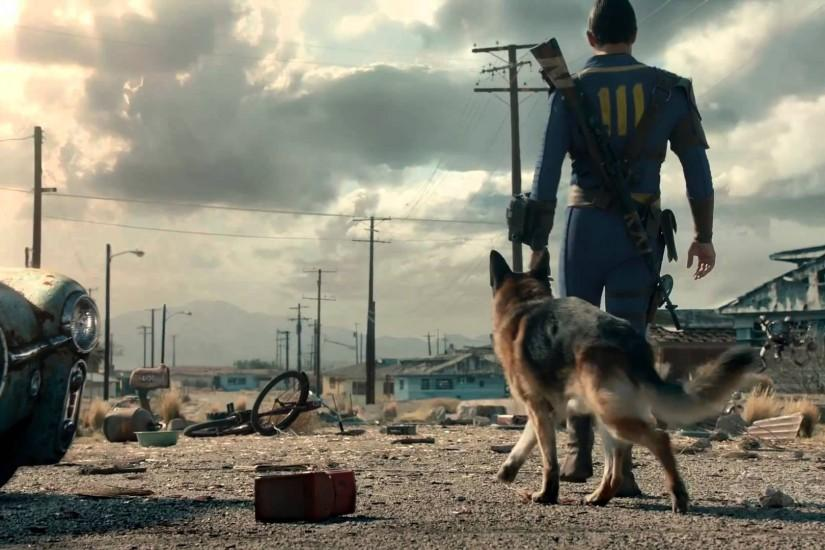 Fallout 4 - The Wanderer Live-Action Trailer - YouTube