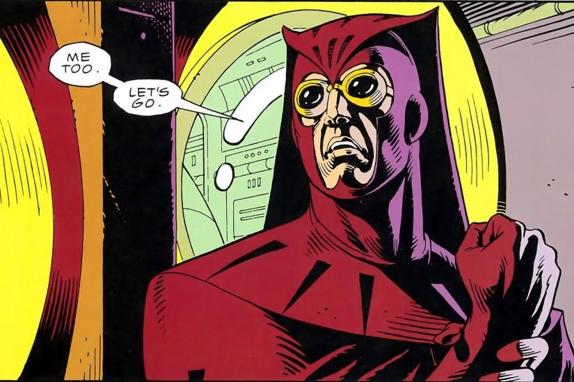 Comics - Watchmen Nite Owl Wallpaper