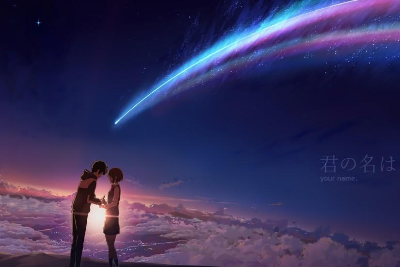kimi no na wa wallpaper 3840x2160 ios