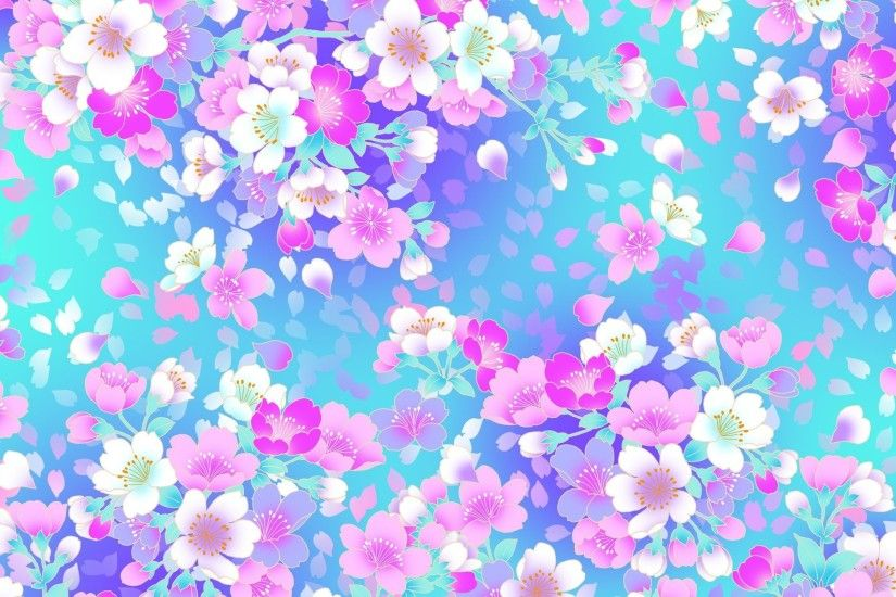Floral Background Pattern 853097