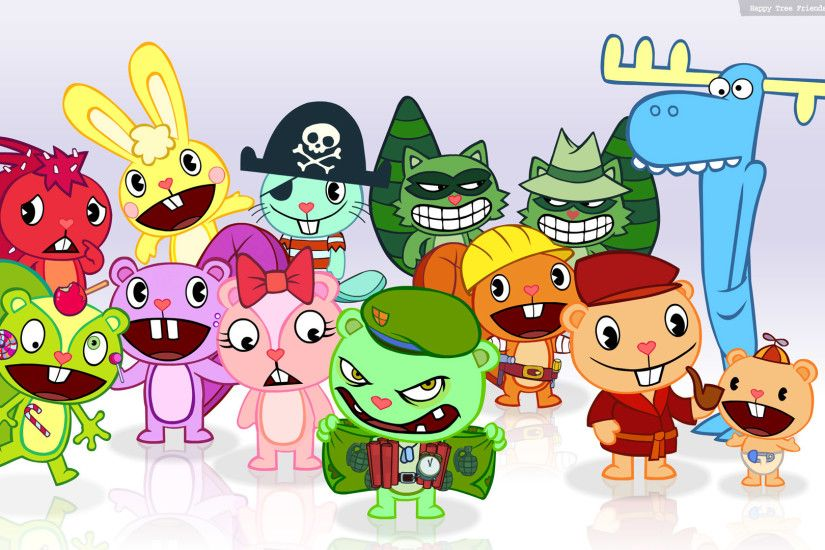 Moar Happy Tree Friends Wallpaper!
