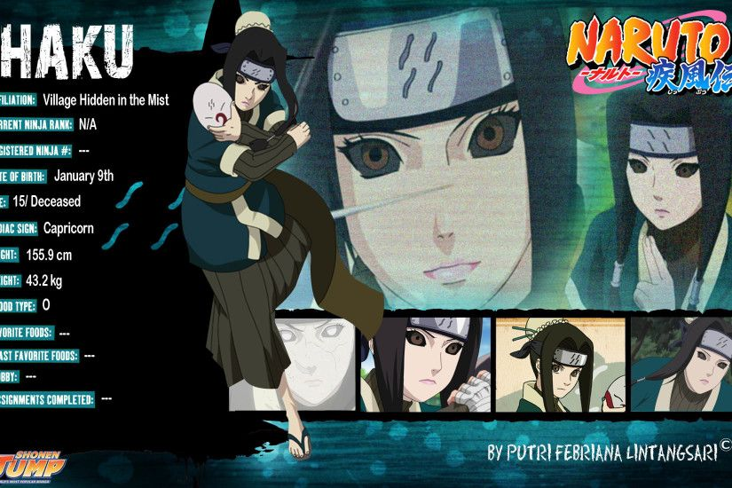 naruto shippuden haku zabuza - photo #11