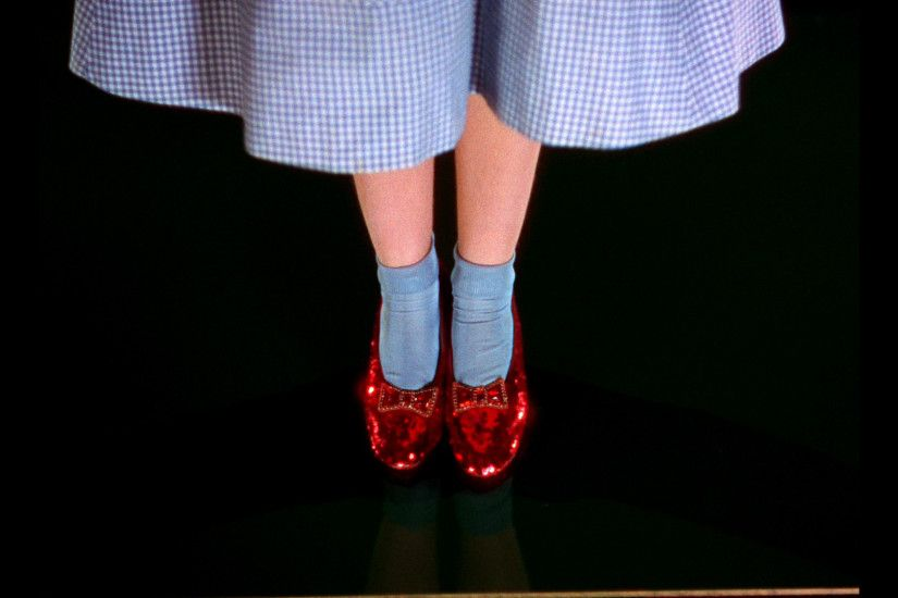 ... Oz I wonder what these ruby slippers will fetch on Ebay ponders Dorothy  in The Wizard Of ...