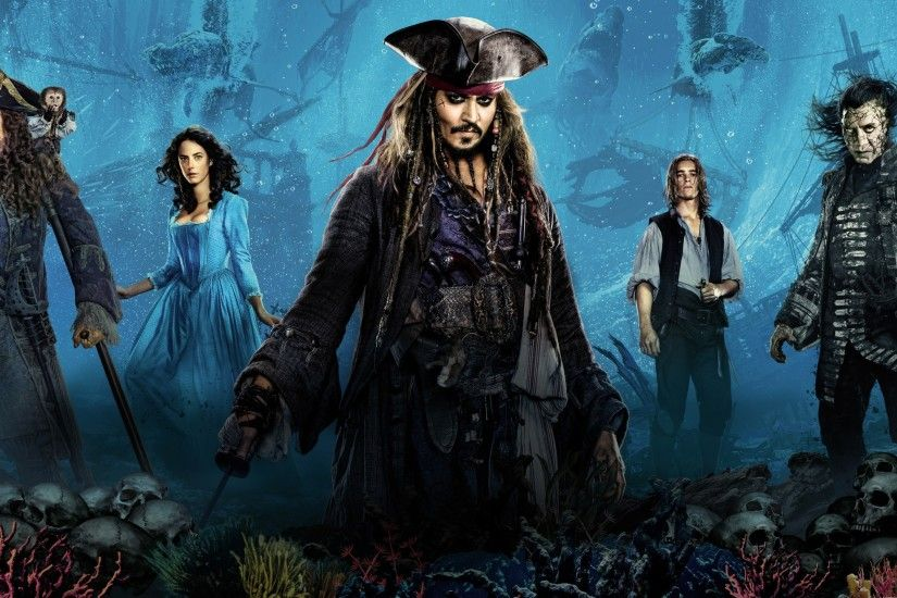 Movies / Pirates of the Caribbean: Dead Men Tell No Tales Wallpaper
