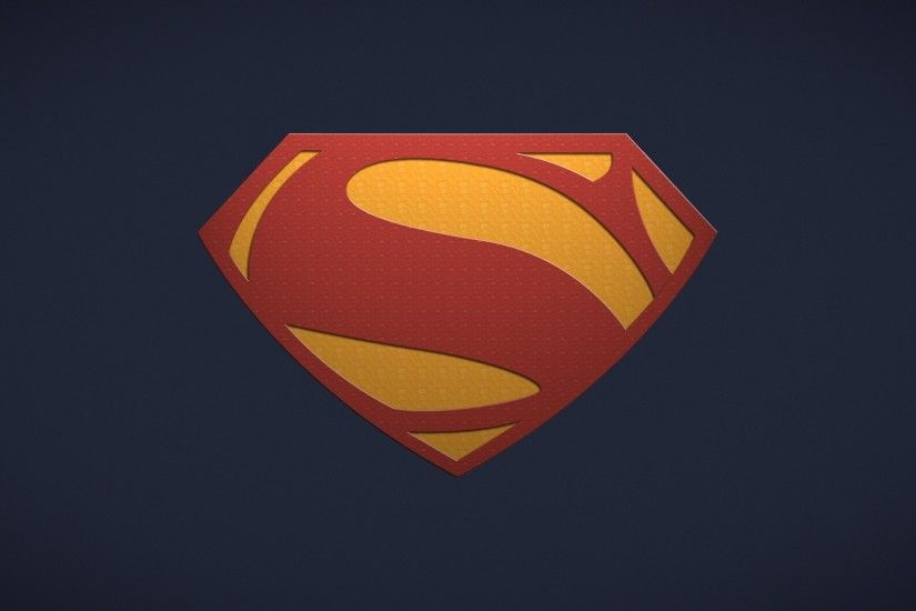 wallpaper minimalistic · movies · Superman · Superman Logo · simple  background