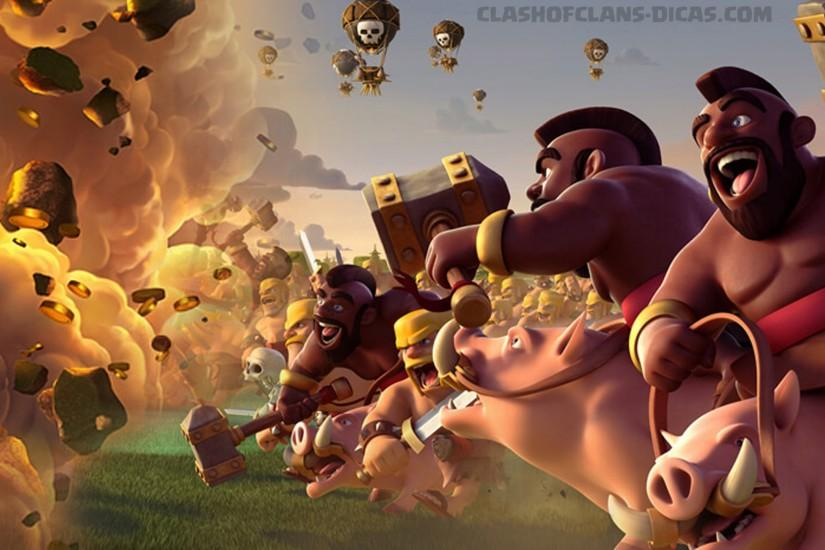 beautiful clash of clans wallpaper 1920x1080 large resolution