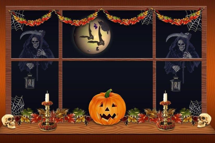 Hd Scary Pumpkin Goulish Halloween Wallpaper Download Free 117292 .