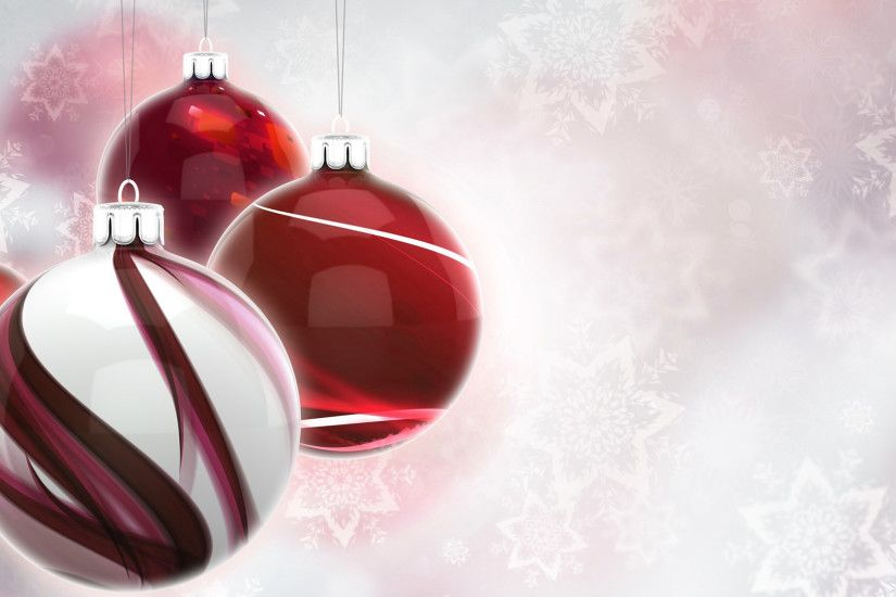 Red And White Christmas Background (19)