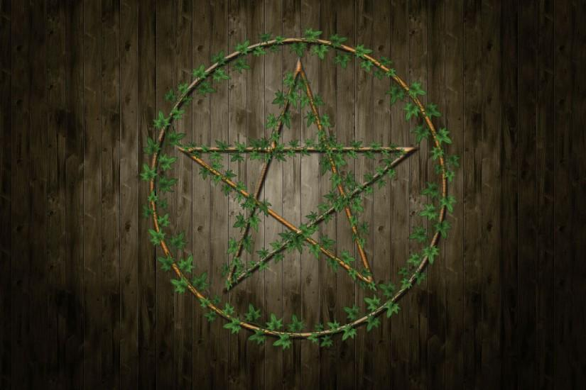... Pentagram Wallpaper by The-Pagan-Gallery