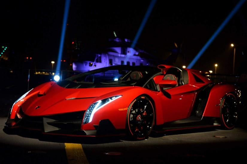 9 Lamborghini Veneno Roadster HD Wallpapers | Backgrounds - Wallpaper Abyss