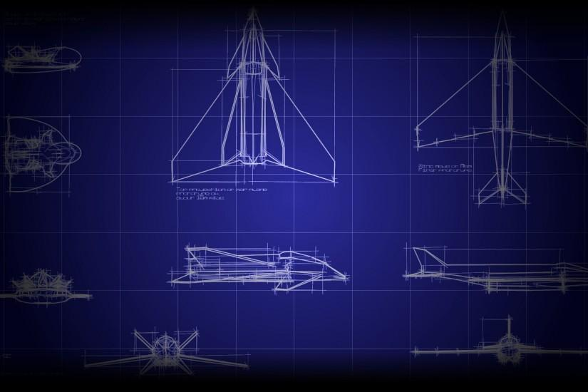 vertical blueprint background 1920x1080