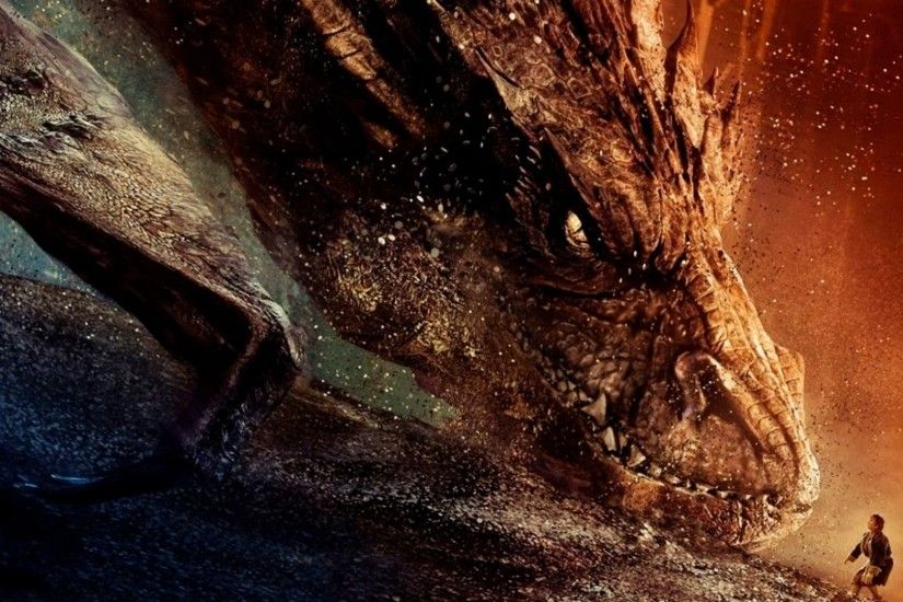 Movie - The Hobbit: The Desolation of Smaug Dragon Wallpaper