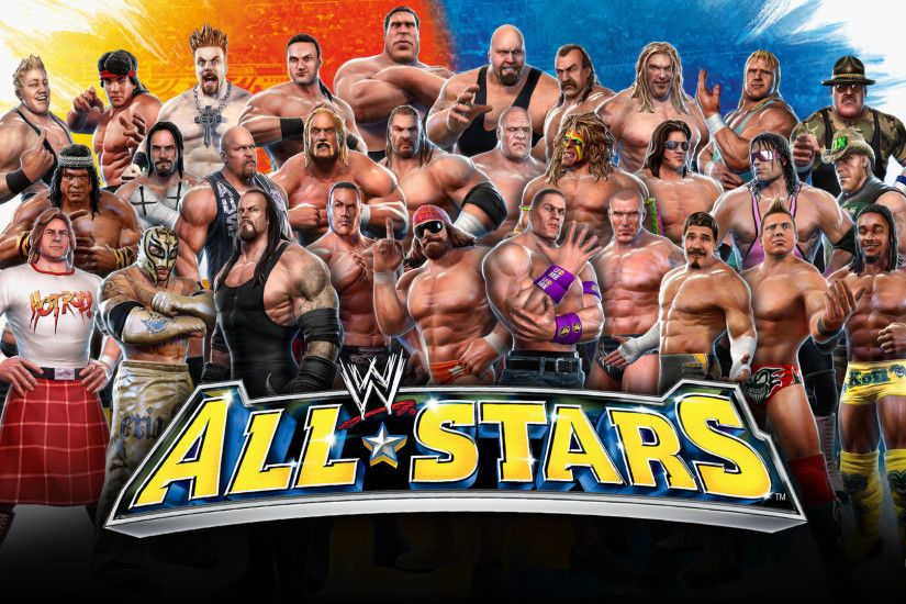 1920x1080 Best WWE All Stars wallpaper (Hartley Young