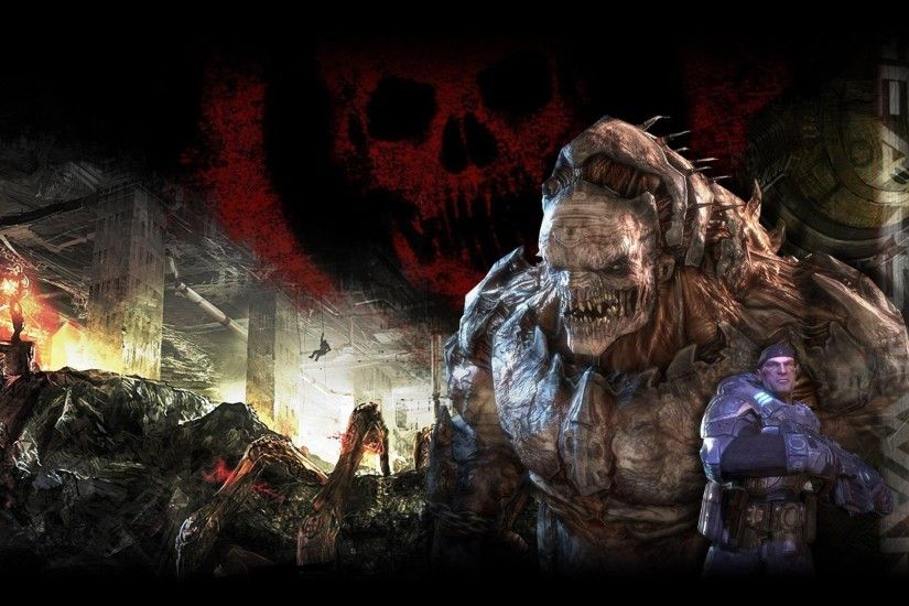 Grab these awesome official Gears of War wallpapers for your 1920×1200