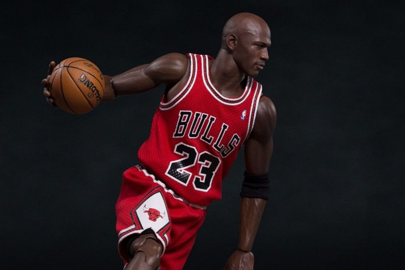 Chicago Bulls #23 Michael Jordan 4K Wallpaper