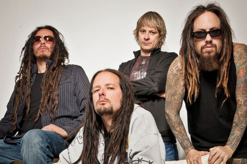 Preview wallpaper korn, tattoo, dreadlocks, beard, band 1920x1080
