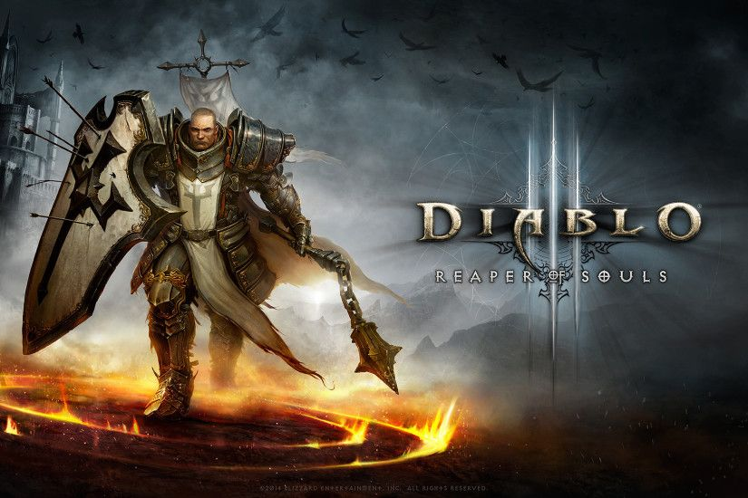 Diablo 3 Crusader Wallpaper-1920x1080