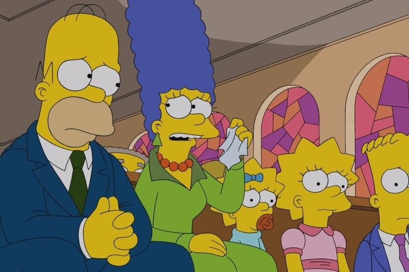 The Simpsons, Homer Simpson, Marge Simpson, Maggie Simpson, Lisa Simpson,  Bart