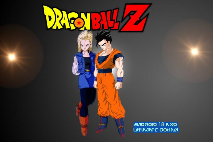 ... Android 18 and Ultimate/Mystic Gohan Wallpaper by DragonsWarth18
