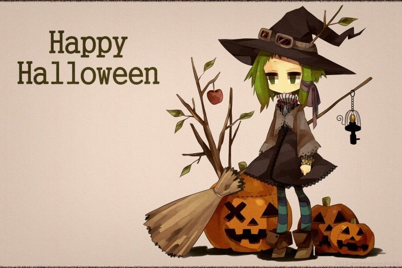 Anime Halloween Witch Cartoon Halloween Sorceress 21409wall.jpg