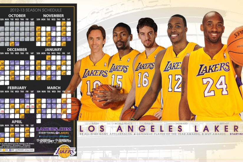 lakers | Lakers Desktop Wallpapers | THE OFFICIAL SITE OF THE LOS ANGELES .
