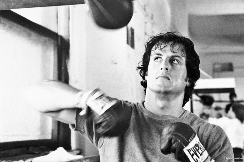 Movies men boxing Rocky Balboa actors Rocky the movie Sylvester .
