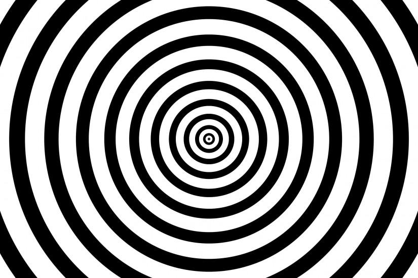 4k Black and White Seamless Looping hypnosis spiral Background. Motion  Background - VideoBlocks