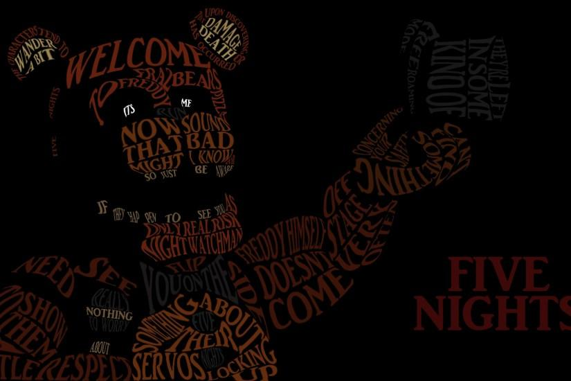 download five nights at freddys wallpaper 1920x1080 for mac