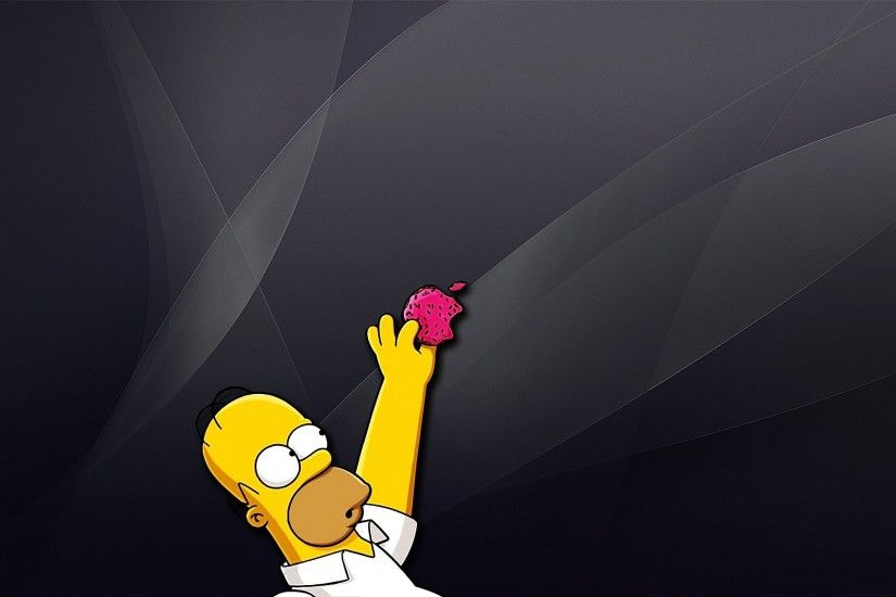 Homer Apple Wallpapers - Wallpaper Cave homer simpson apple wallpaper - HD  Desktop Wallpapers | 4k HD ...