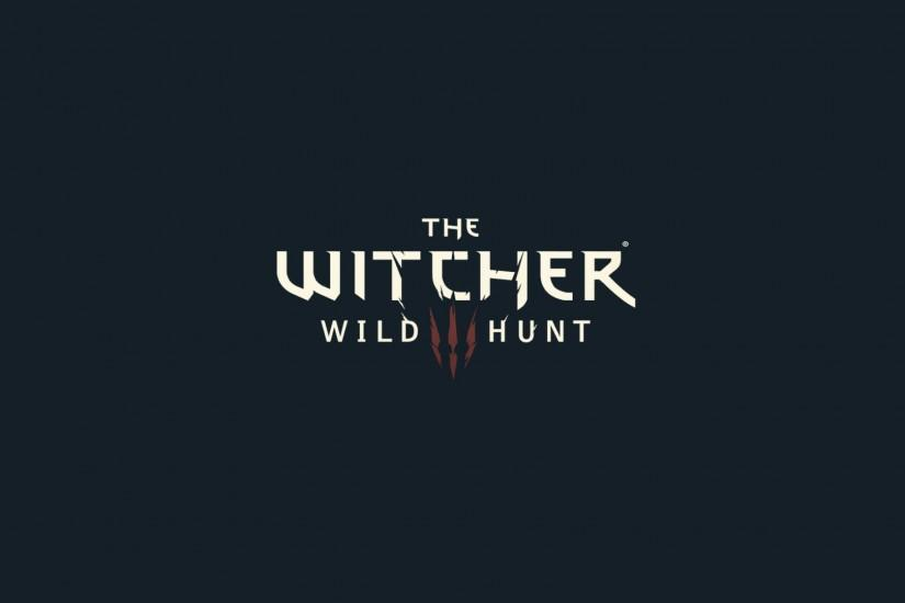 General 1920x1080 The Witcher 3: Wild Hunt The Witcher logo minimalism  simple simple background