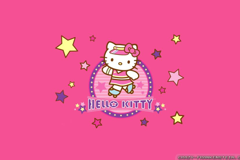 Wallpaper: Hello Kitty 2. Resolution: 1024x768 | 1280x1024 | 1600x1200.  Widescreen Res: 1440x900 | 1680x1050 | 1920x1200