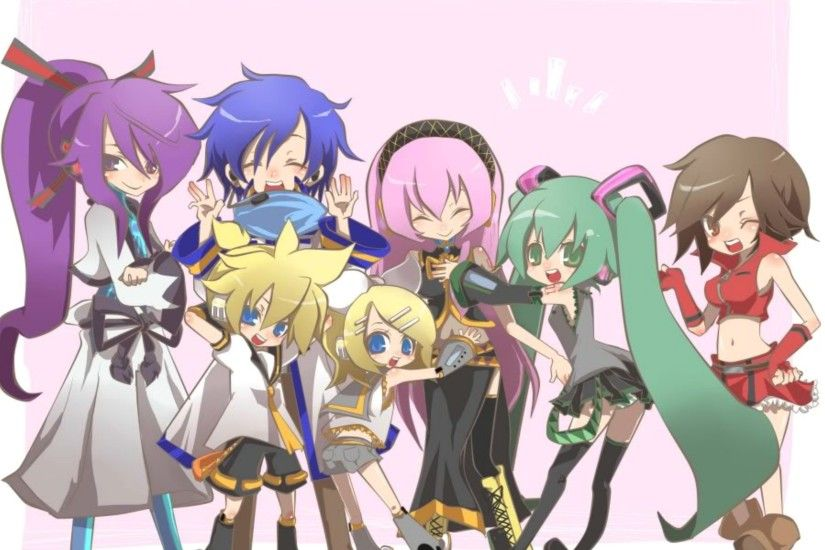 All Vocaloids Chibi