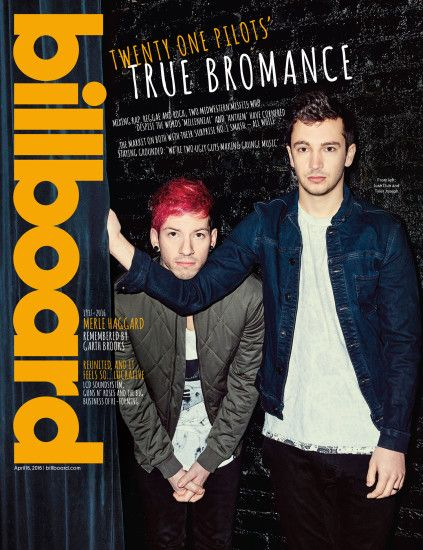 Billboard Cover: Twenty One Pilots on Their Musical Bromance and Fleeting  Fame -- 'It's Going to Go Away'