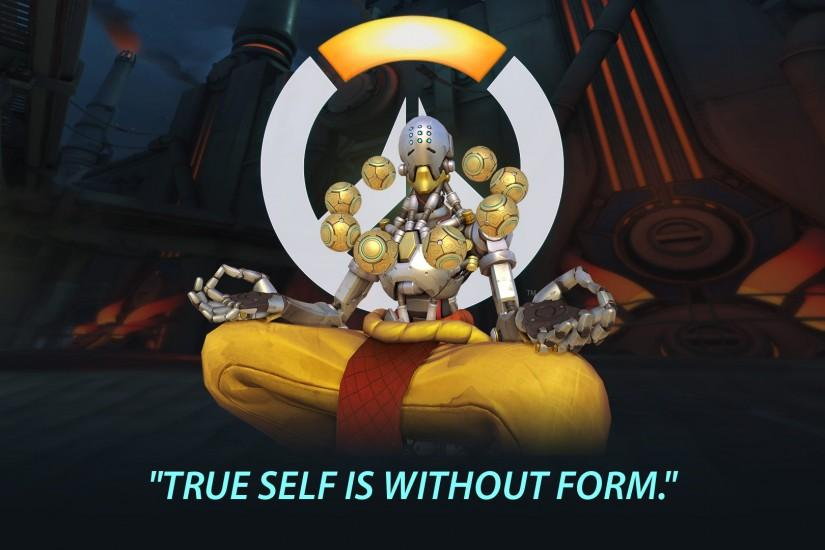 Overwatch Zenyatta Portrait Wallpaper - 1920x1080 by Mac117 on .