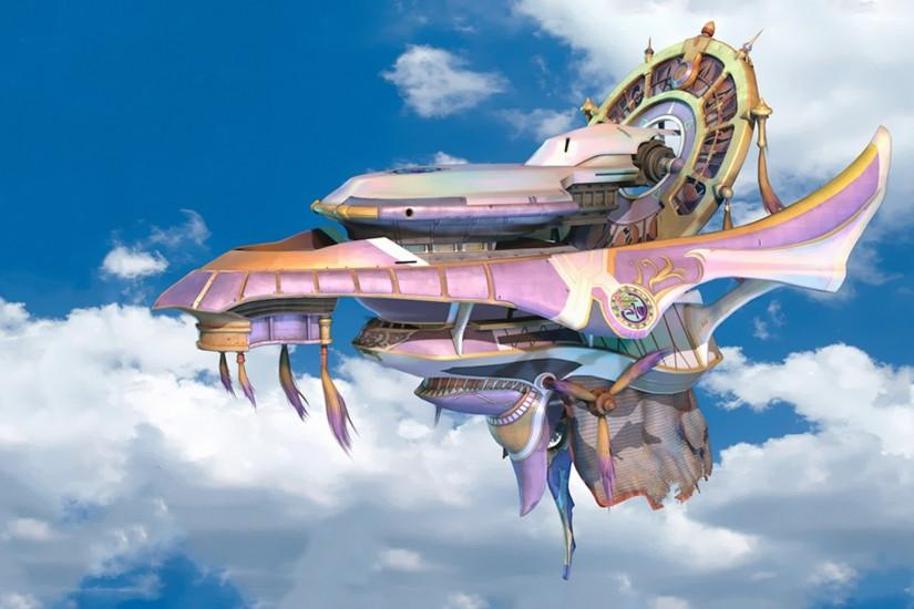 FFX Airship Fahrenheit Wallpaper 1080p by ajnauron FFX Airship Fahrenheit  Wallpaper 1080p by ajnauron