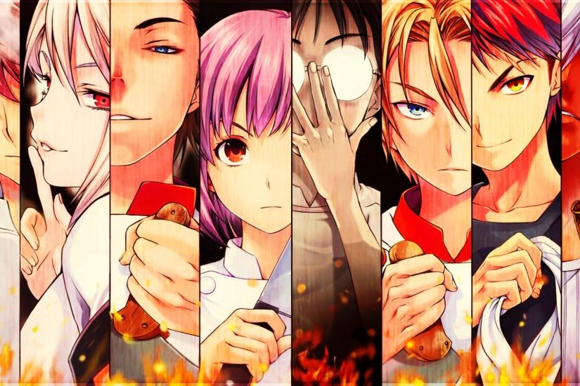 vertical shokugeki no soma wallpaper 1920x1080 for retina