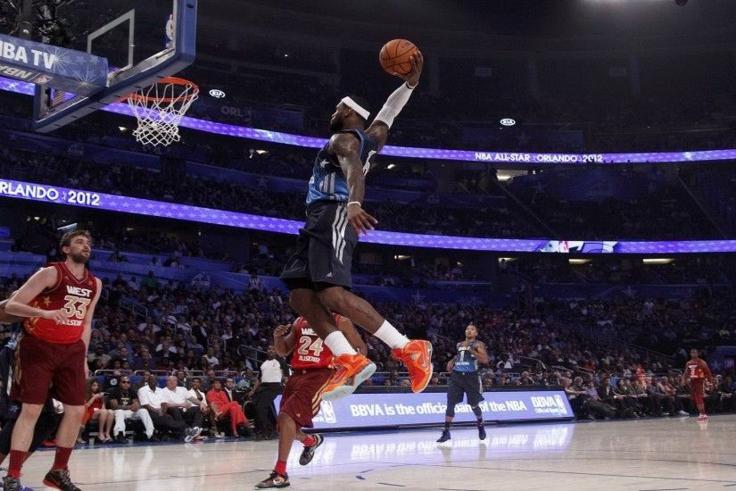 Lebron James All Star 2012